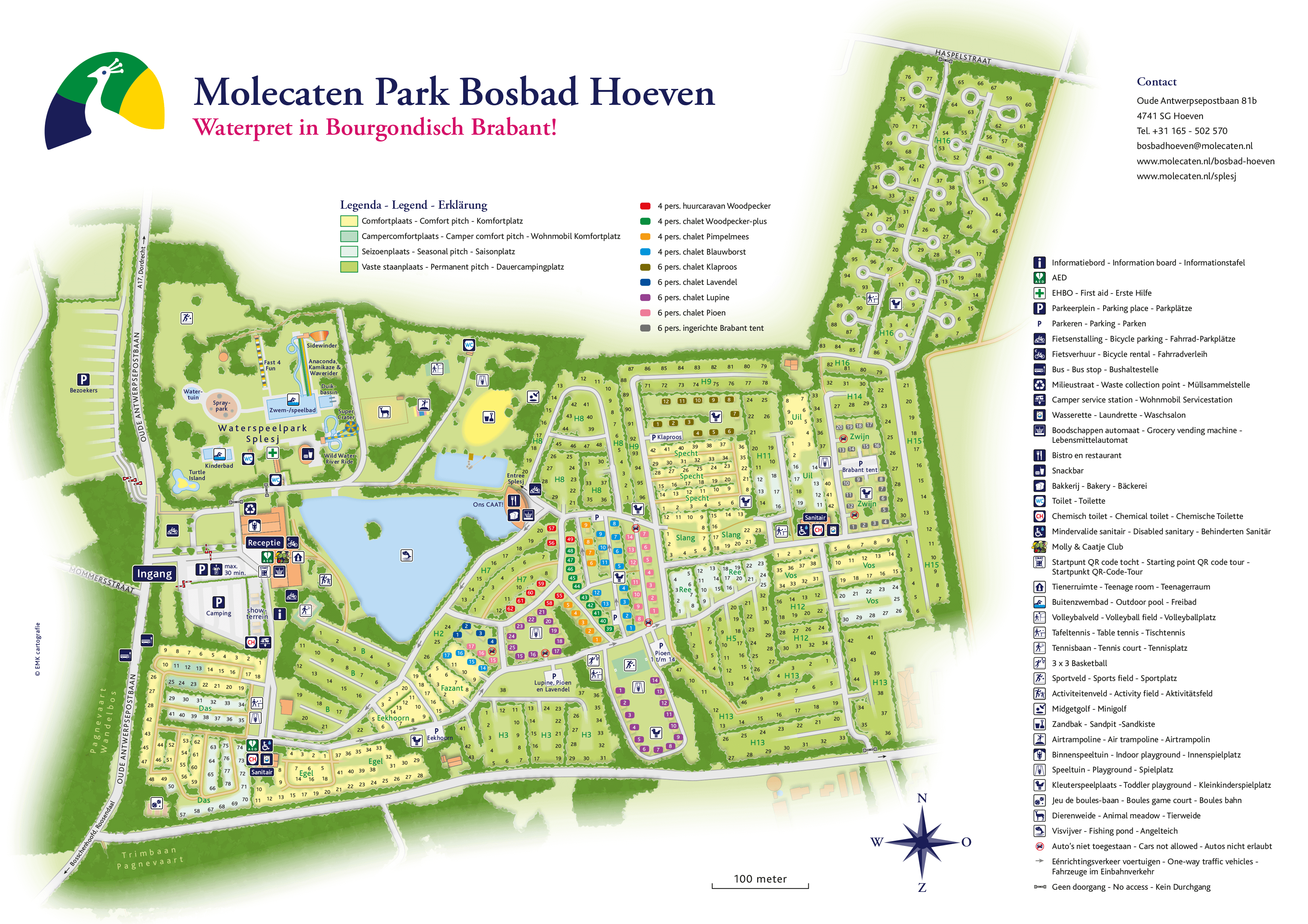 Molecaten Park Bosbad Hoeven accommodation.parkmap.alttext