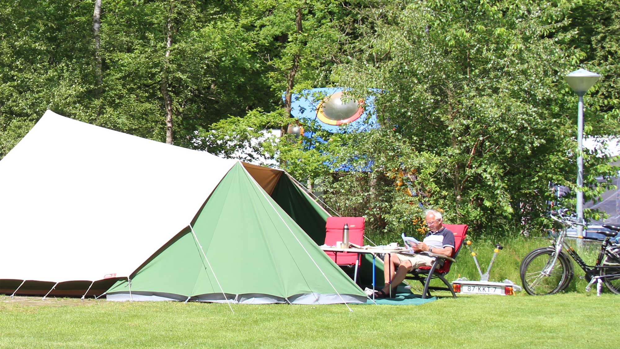 Comfortplaats A kamperen Molecaten Park t Hout 09