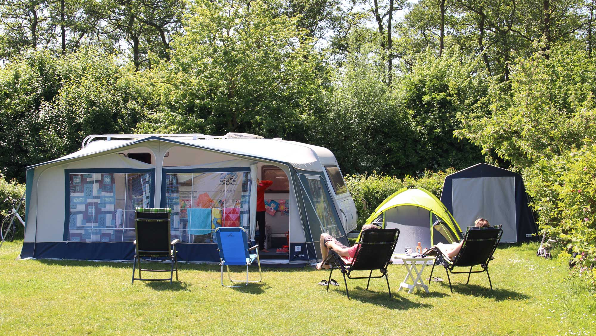 Comfortplaats A kamperen Molecaten Park Wijde Blick 02