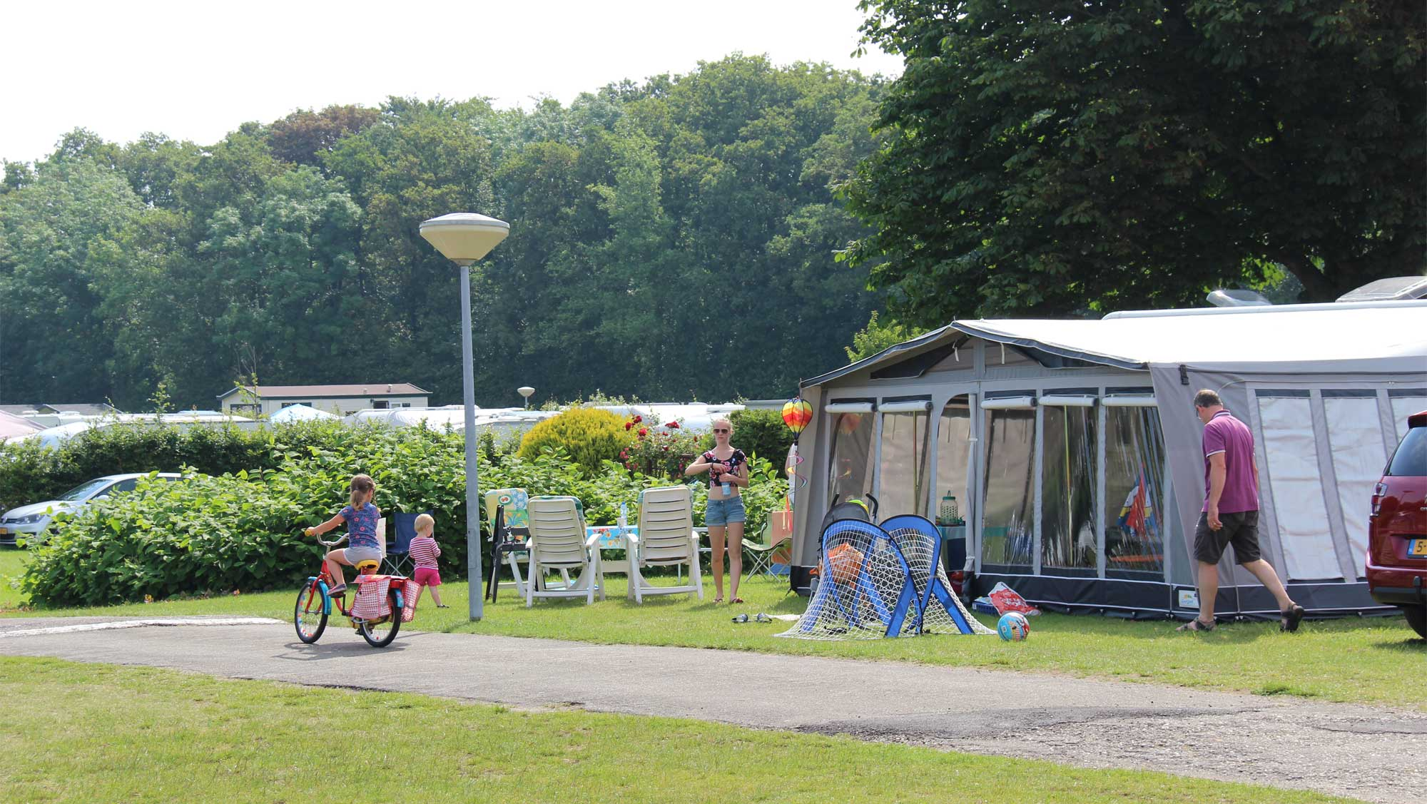 Comfortplaats kamperen Molecaten Park Waterbos 01