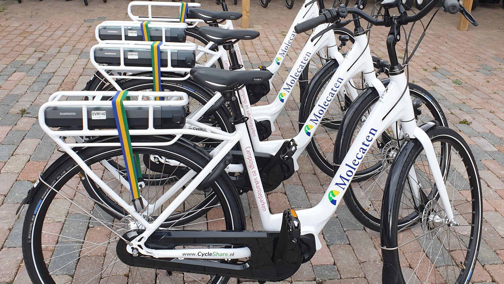 Molecaten fietsen