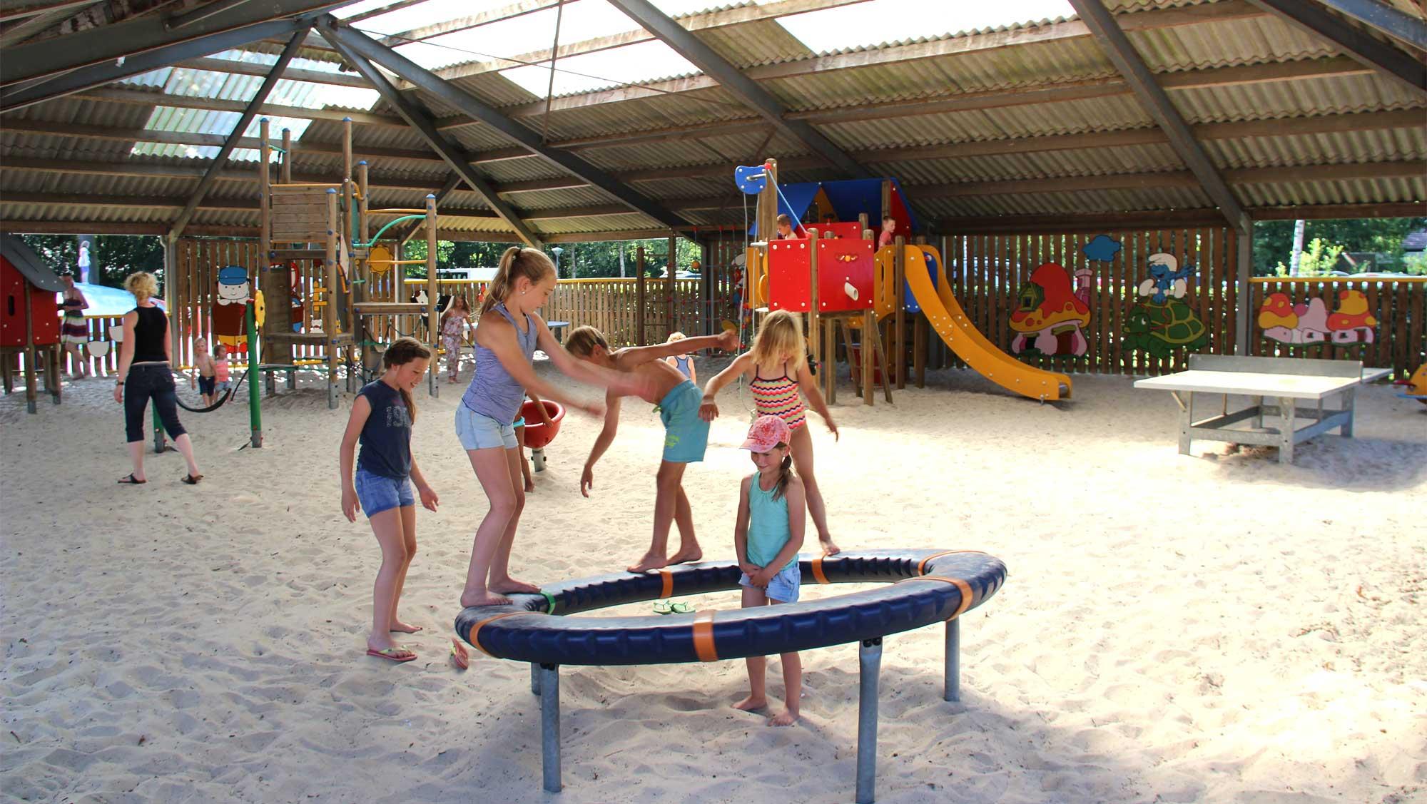 Flippies Pretpaleis 10 overdekte buitenspeeltuin