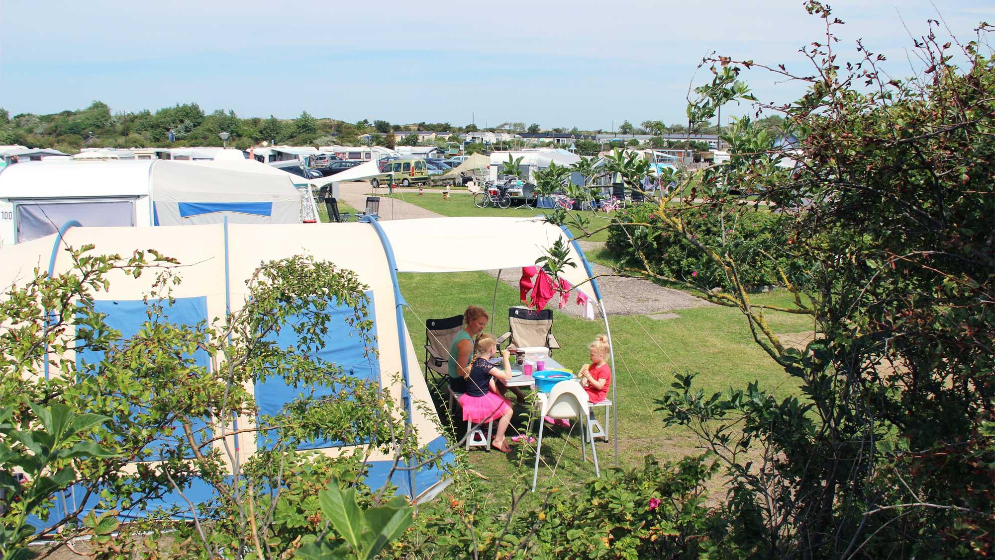 Comfortplaats kamperen Molecaten Park Noordduinen 02