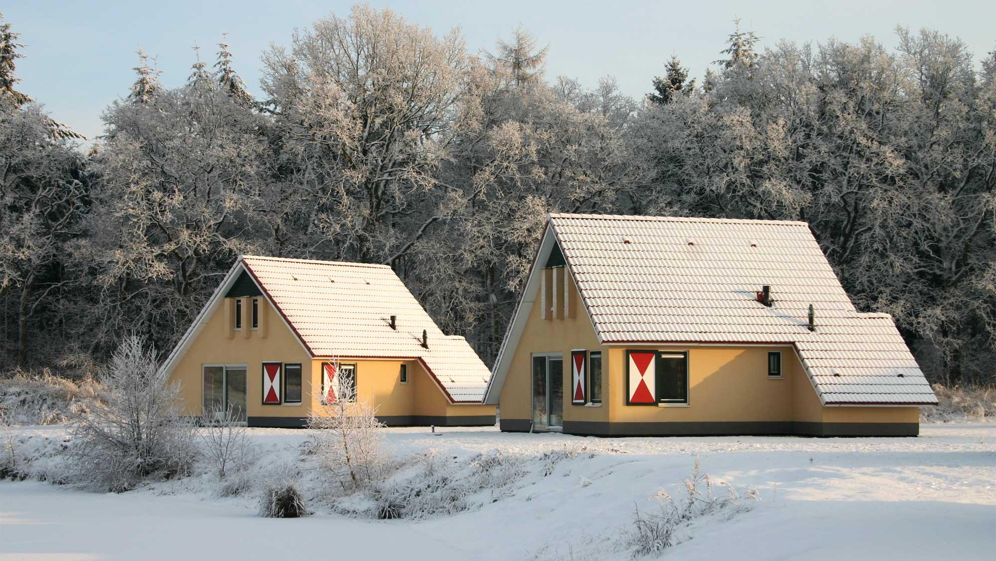 6pers bungalow Kuierpad Molecaten Park Kuierpad winter 01