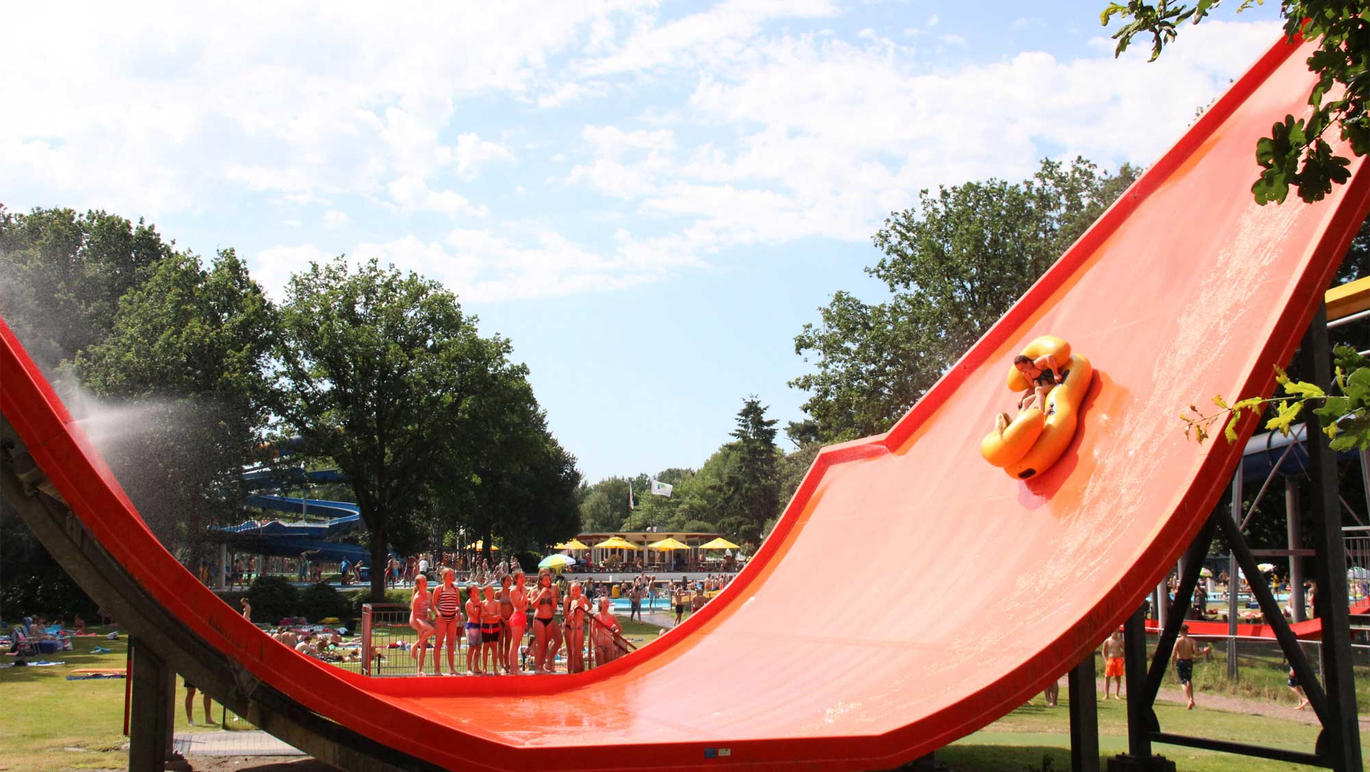 Waterspeelpark Splesj 15 Sidewinder