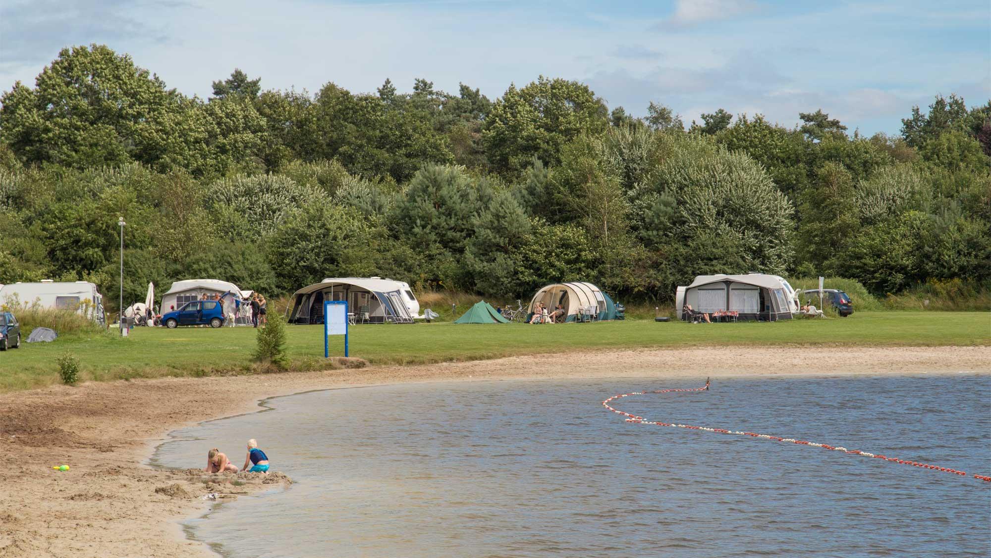 Basisplaats kamperen Molecaten Park Kuierpad 09