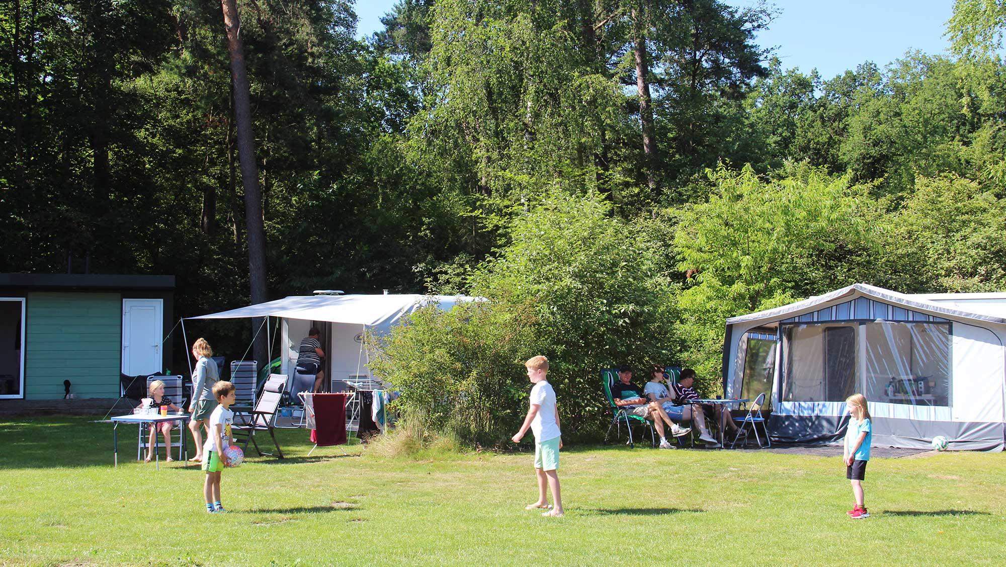 Comfortplusplaats kamperen Molecaten Park Landgoed Ginkelduin 02