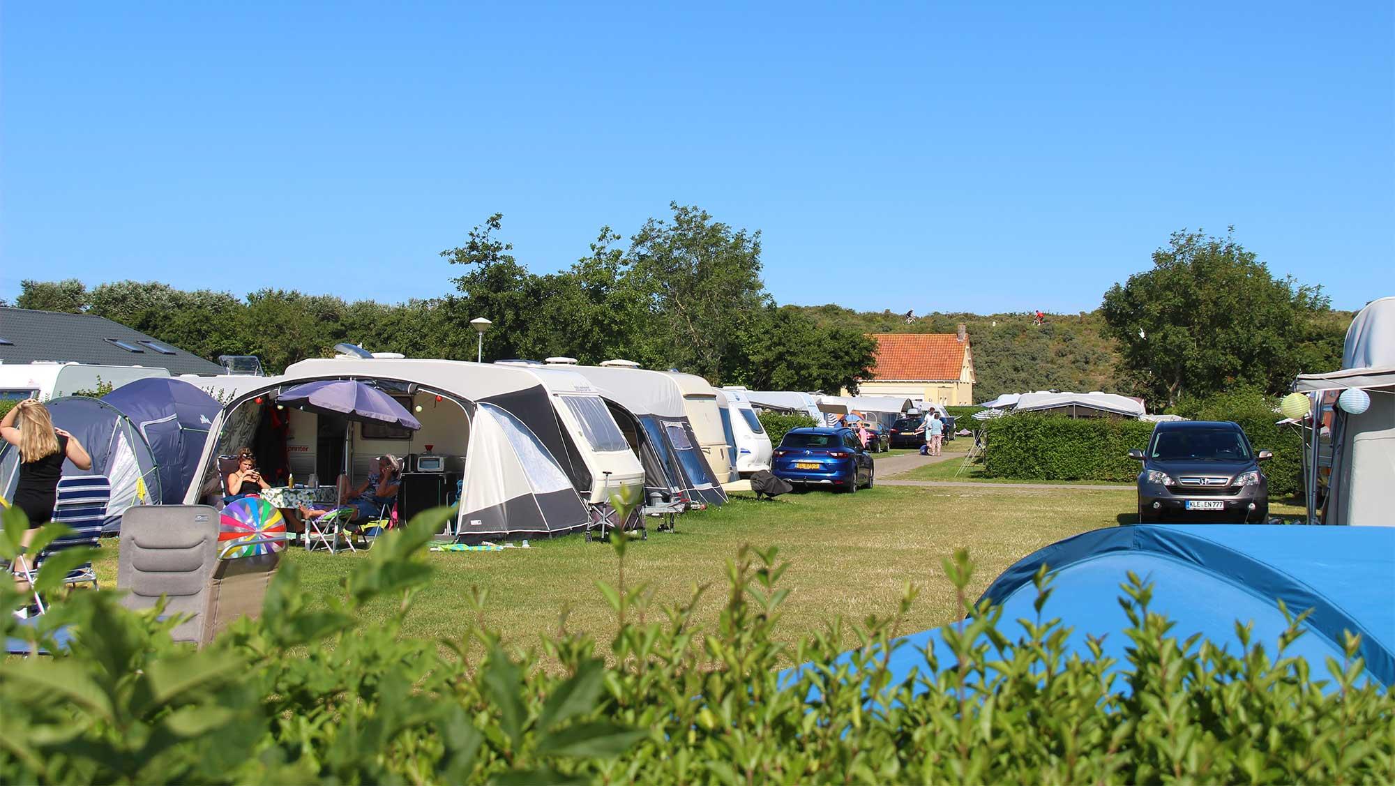 Comfortplaats tot 105m2 kamperen Molecaten Park Hoogduin 06